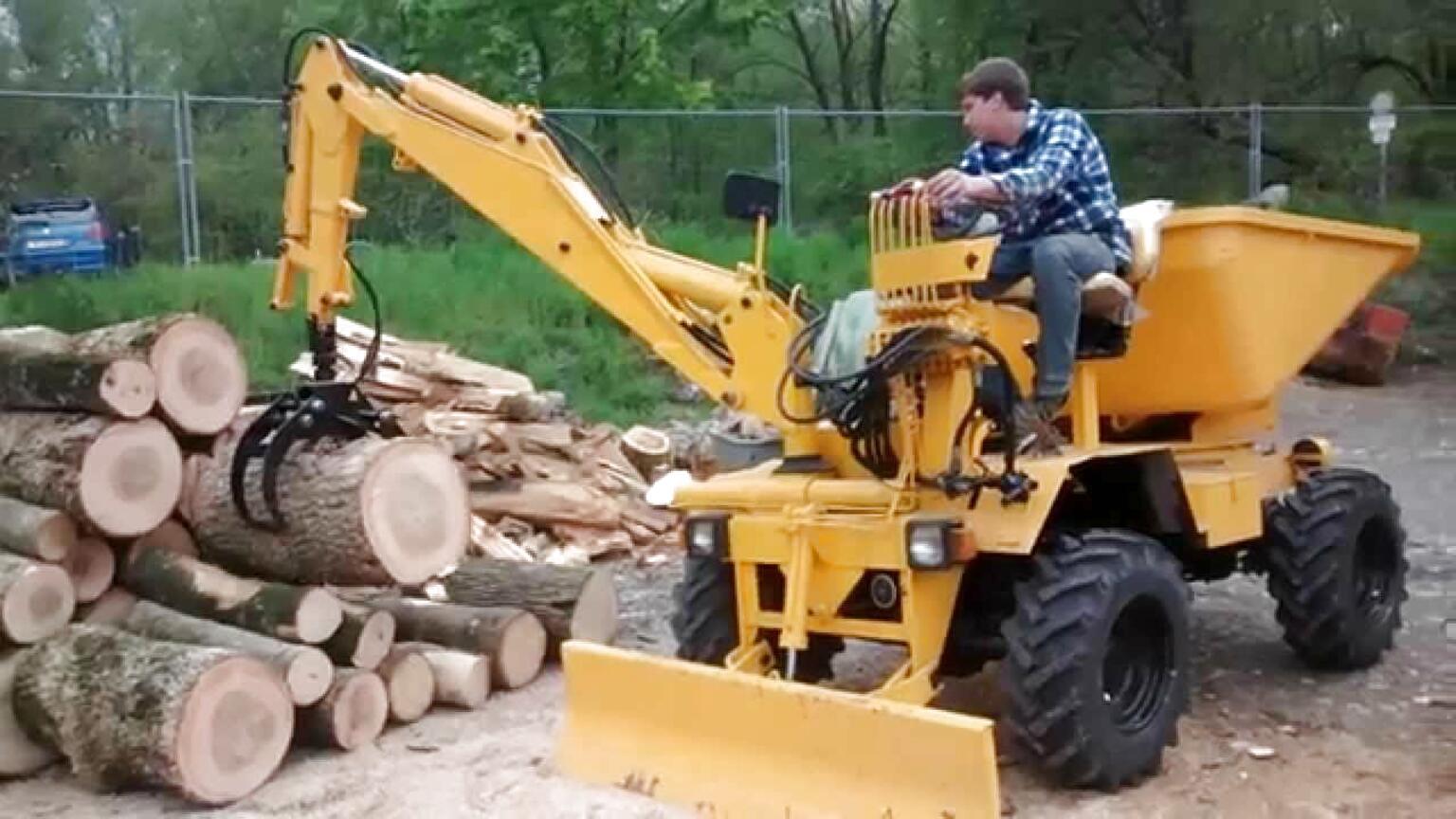 dumper escavatore usato