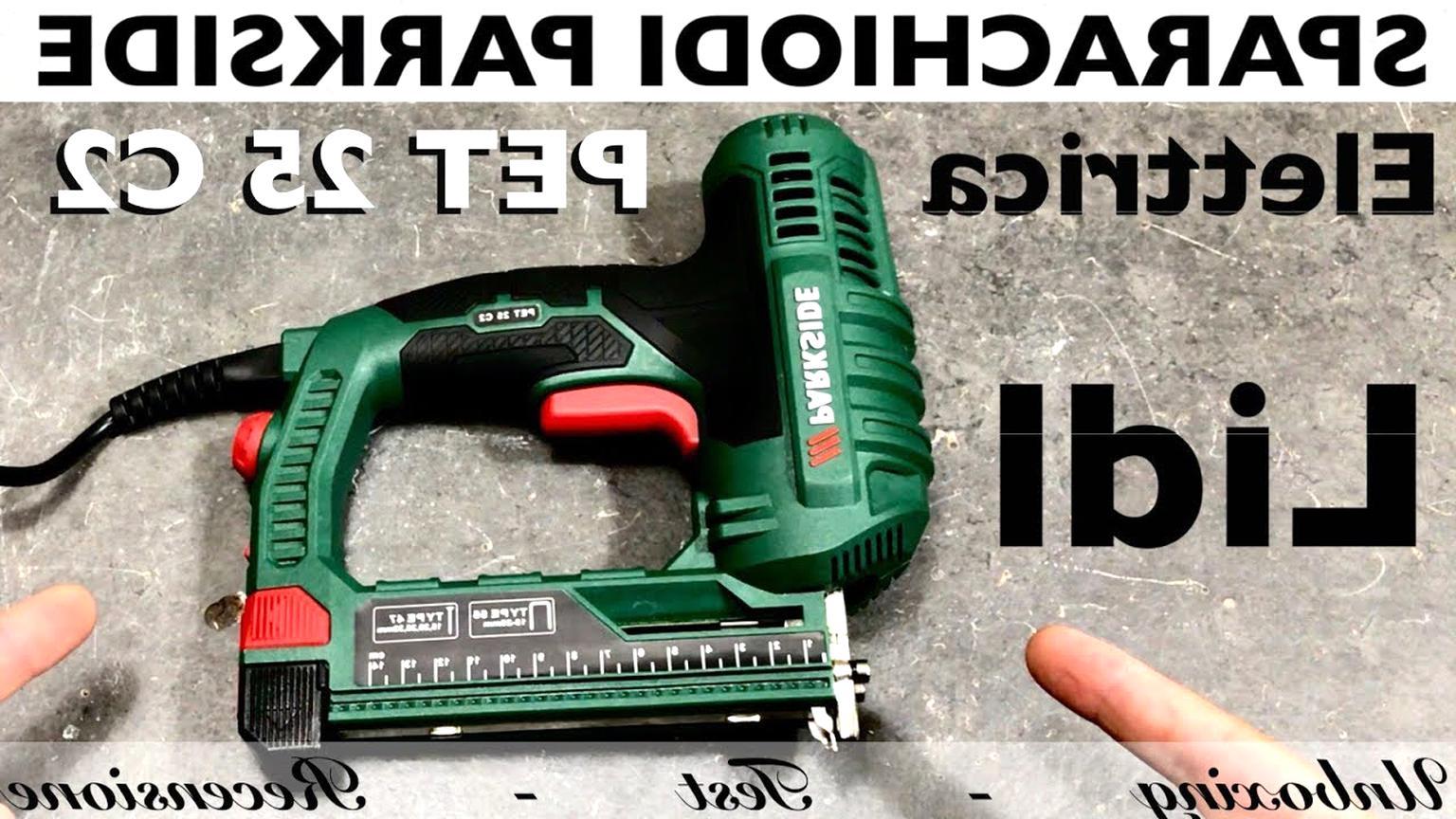 Spillatrice chioadatrice sparachiodi elettrica fissatrice bricolage ecotak 114b