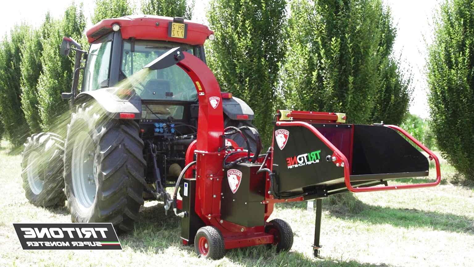 trattore biotrituratore usato