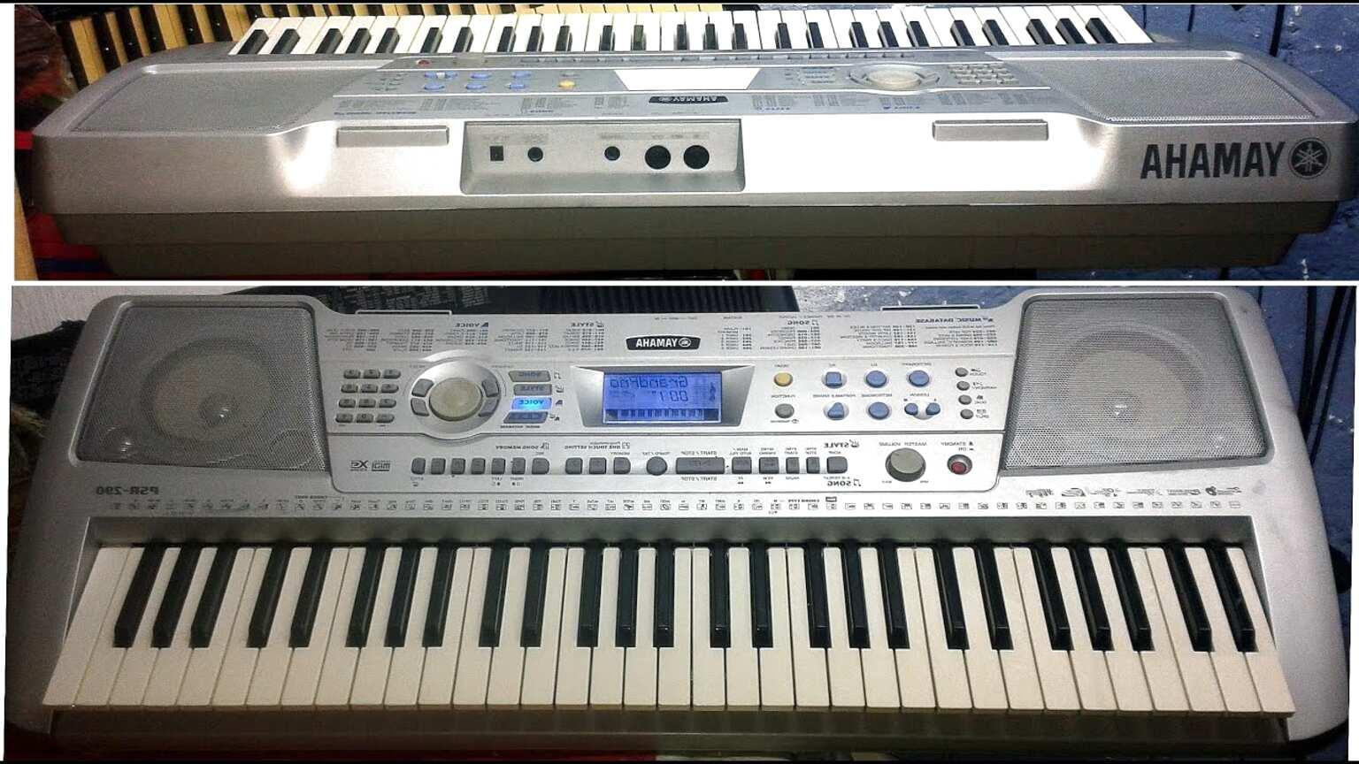 Yamaha PSR-290 Keyboard #15412 12V Netzteil Steckernetzteil Ladegerät passend f