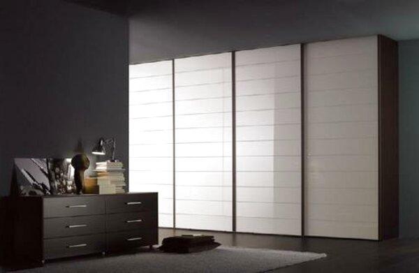 Usato, Esidra, Armadio 4 Ante e 3 cassetti, 154x50