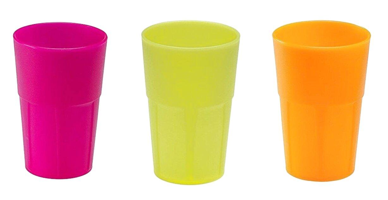 bicchieri plastica dura usato