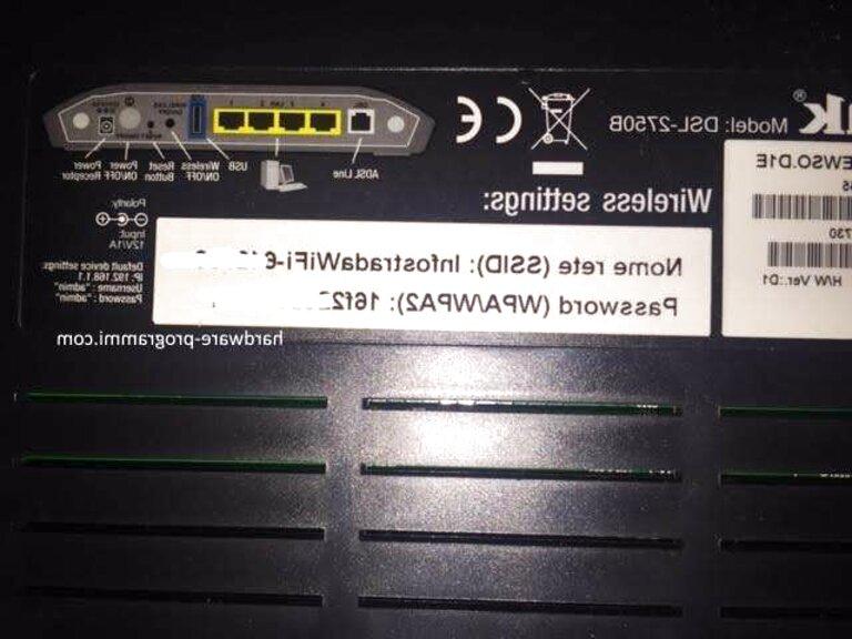 modem router infostrada usato