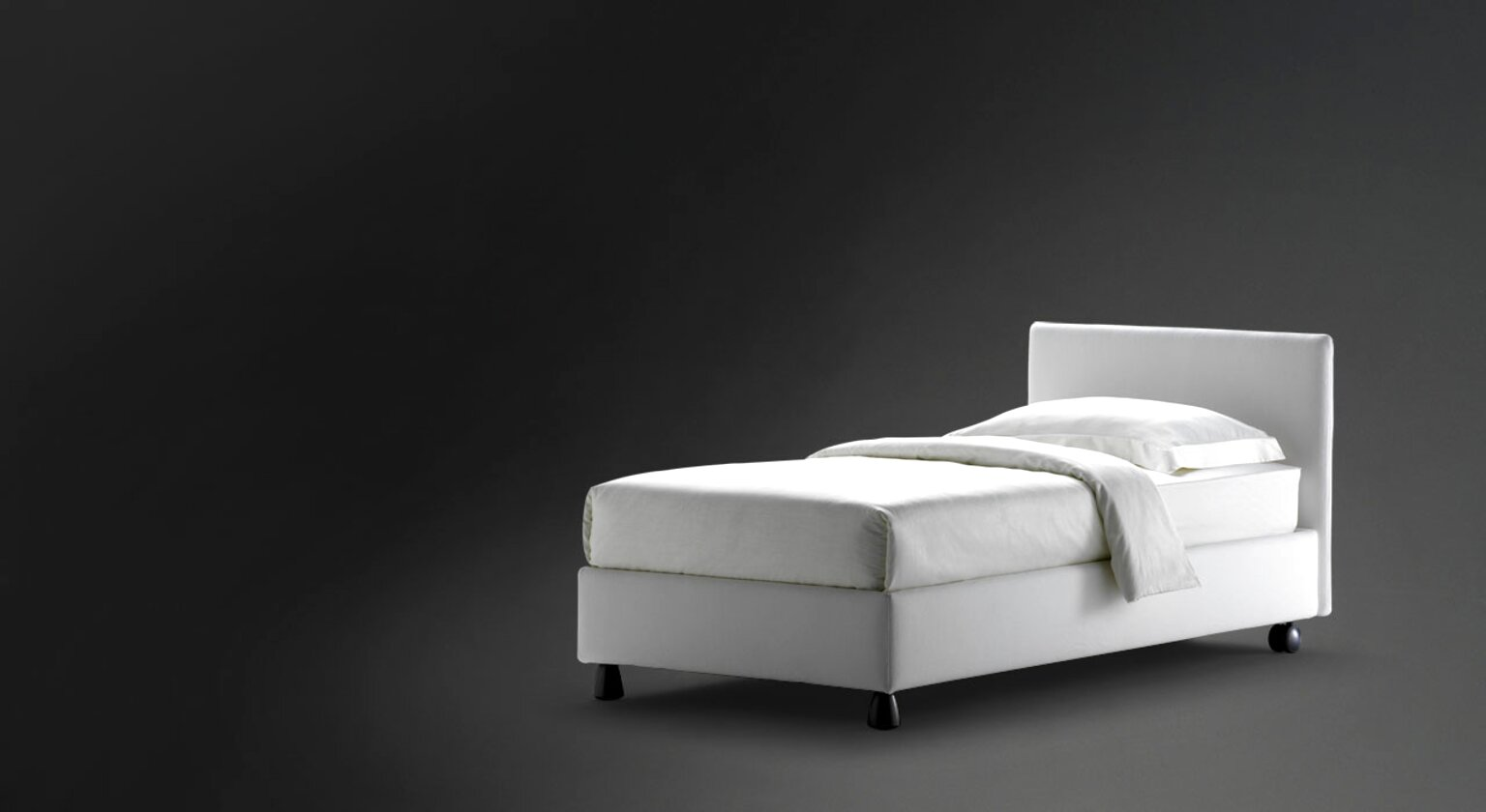 letto singolo flou