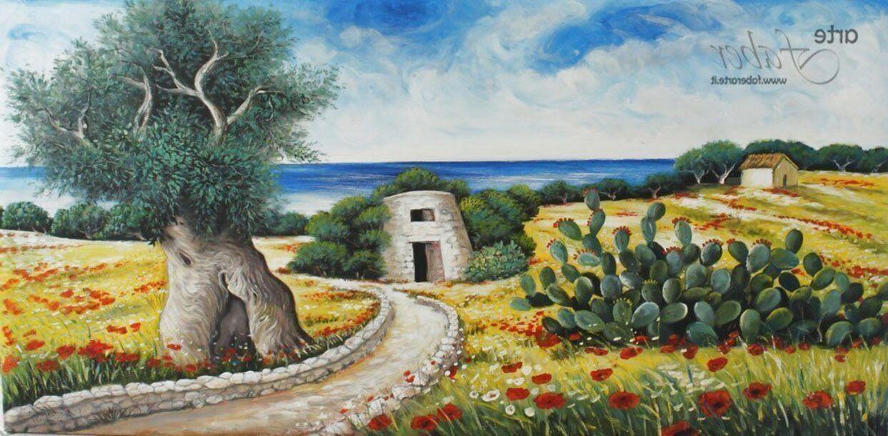 quadri paesaggi campagna