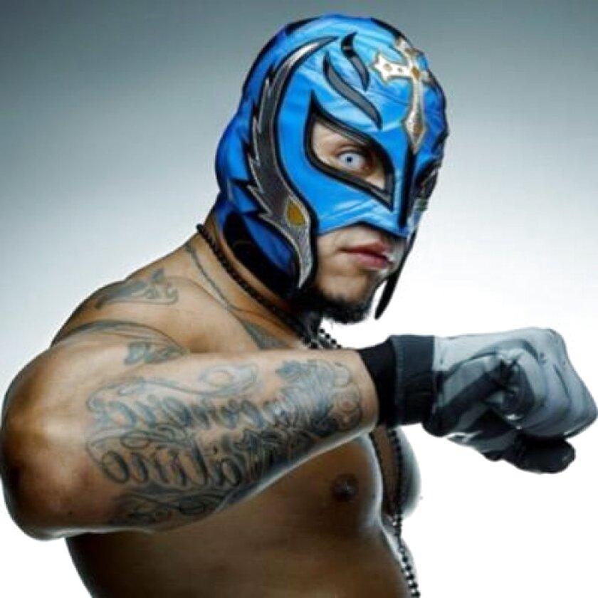Kalisto /& Sin Cara Bambino Testa Maschera Wrestling Wwe Costume Travestimento
