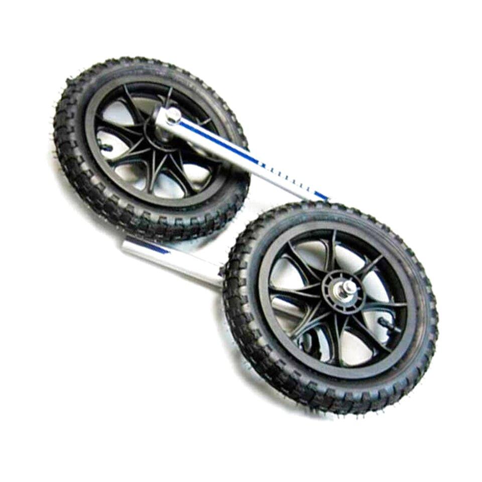 ruote carrello pneumatica usato