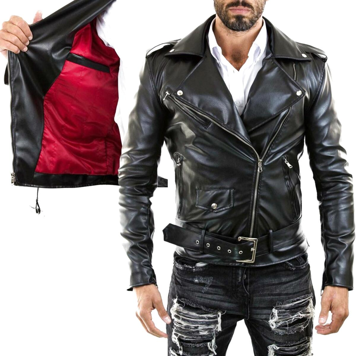 giacca motard usato