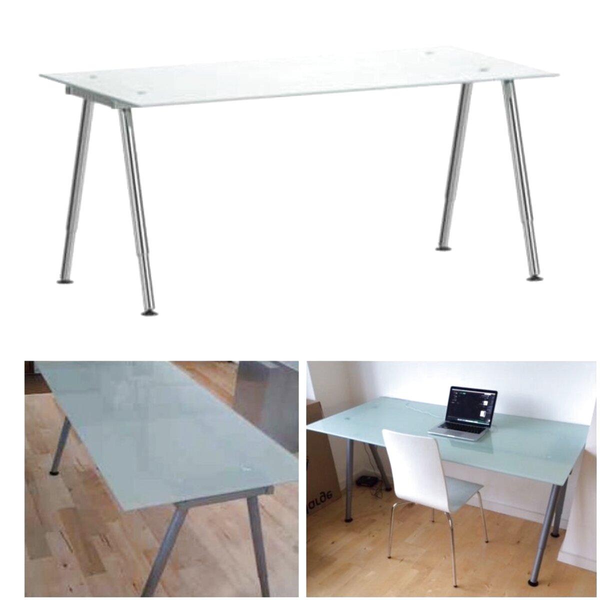 Scrivania Con Cassettiera Ikea ikea scrivania vetro