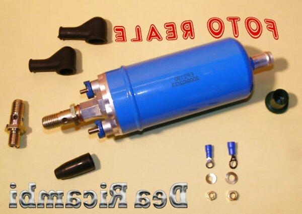 76855//1 Pompa Elettrica Universale Carburante Benzina Gasolio Modifica 1,5 BAR