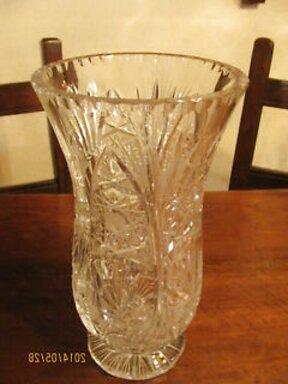 cristallo boemia portafiori usato