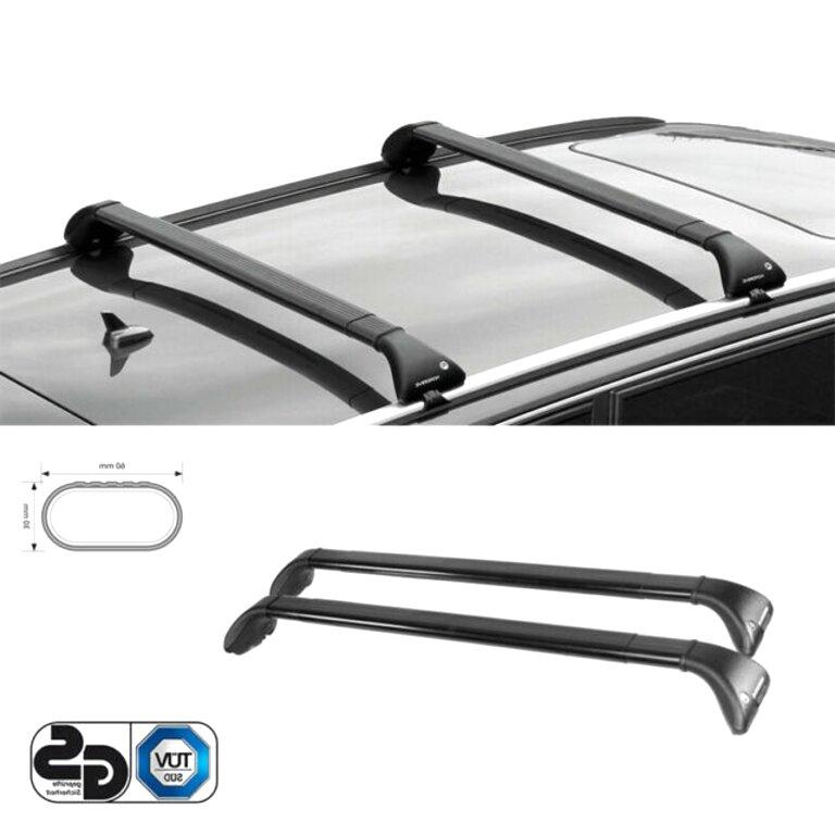 Alluminio Generico Kit Barre portatutto kia picanto 2017 5 Porte