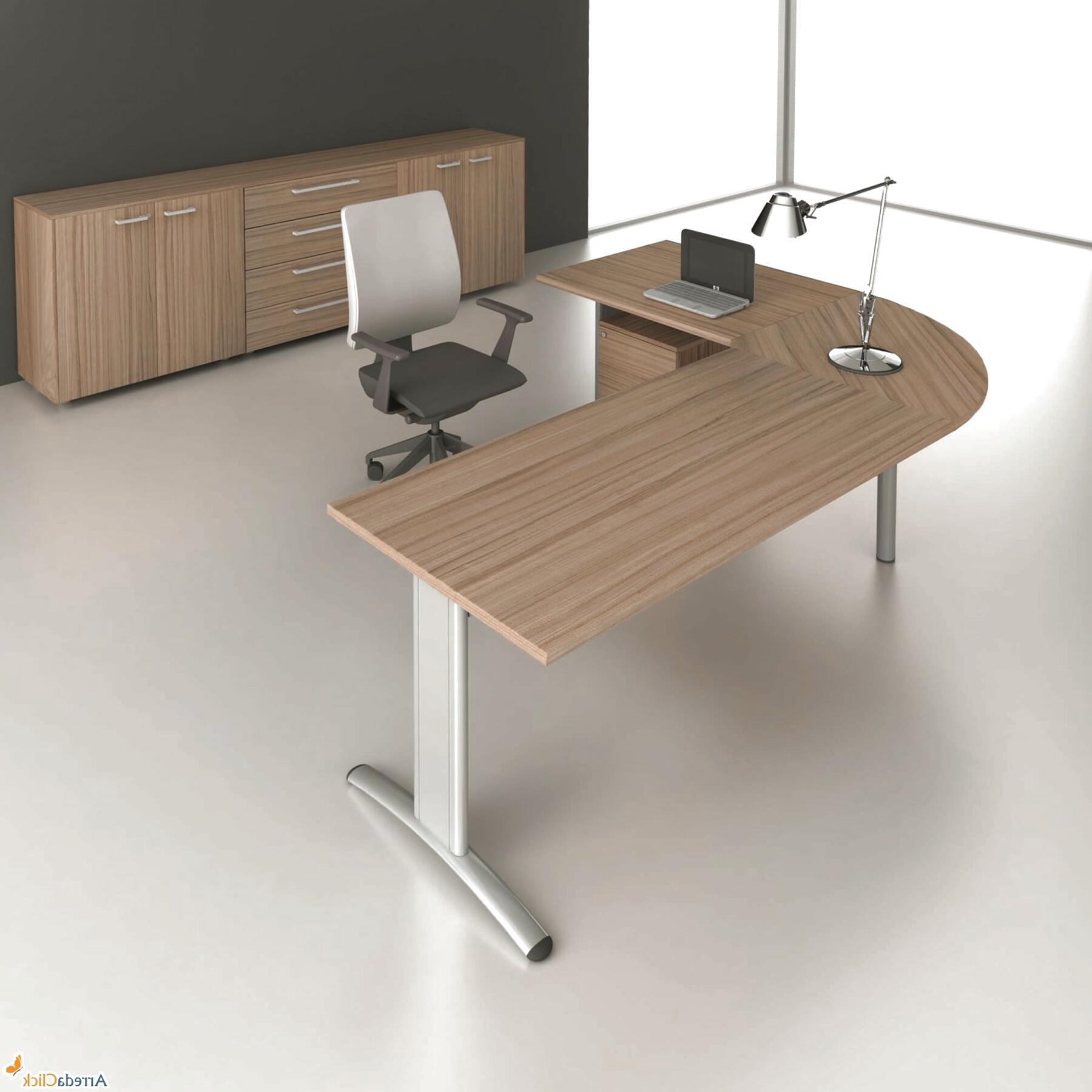 scrivania ufficio angolo