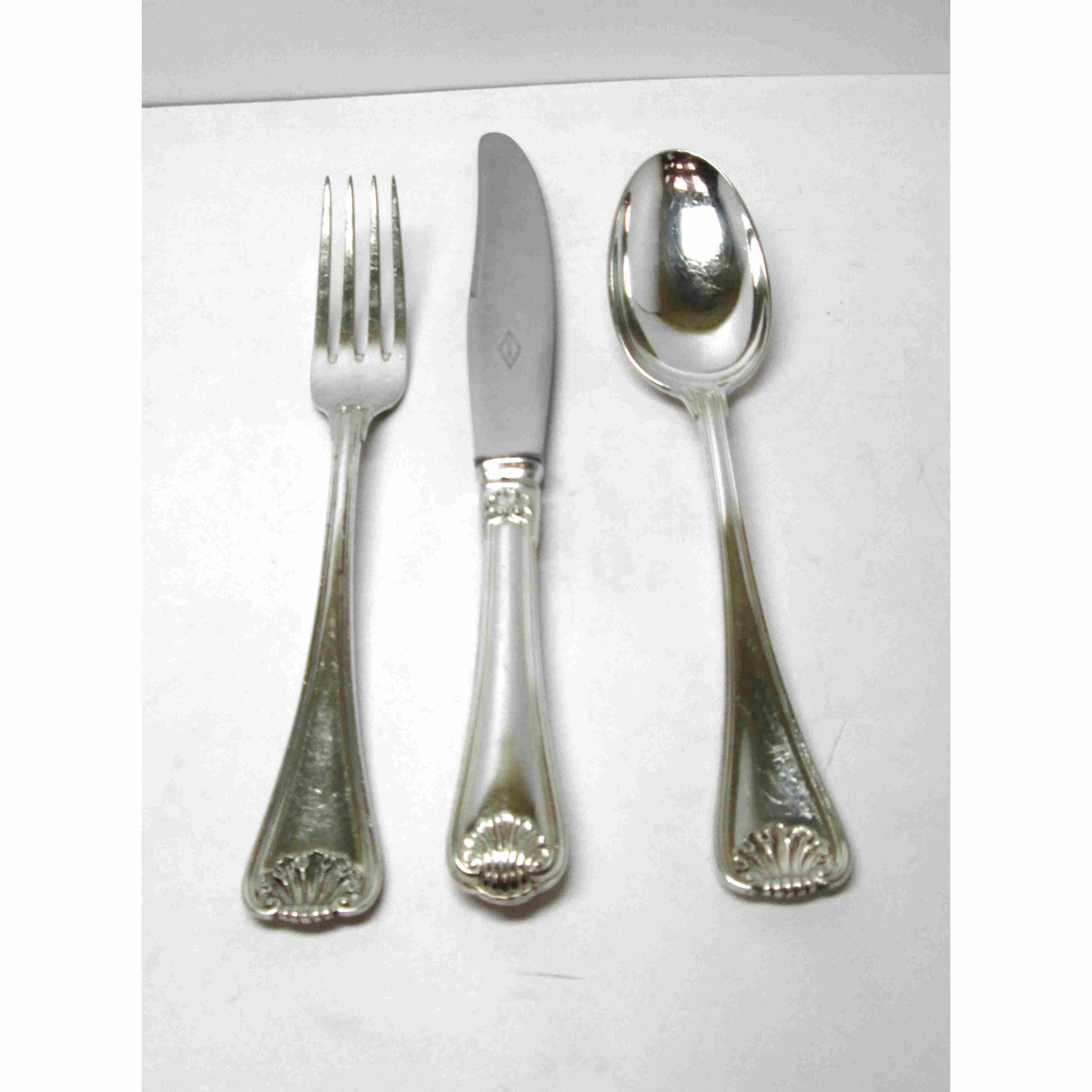 Posate Argento Come Pulirle belleek living rathmore posate argento set di 72