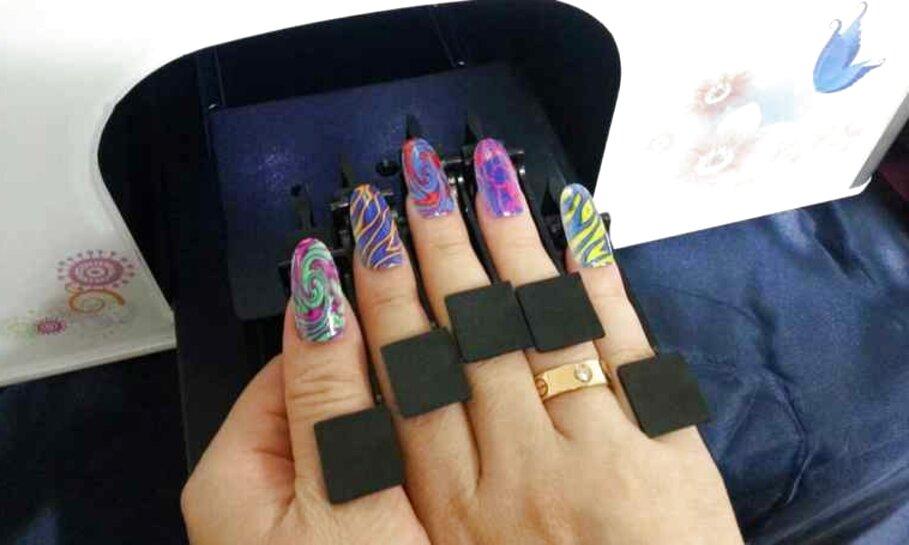 stampante unghie usato