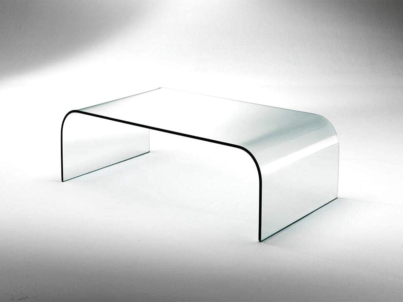 tavoli cristallo curvato