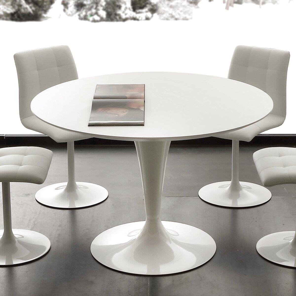 Tavolo Rotondo Bianco Usato.Tavolo Tondo Bianco Usato In Italia Vedi Tutte I 73 Prezzi