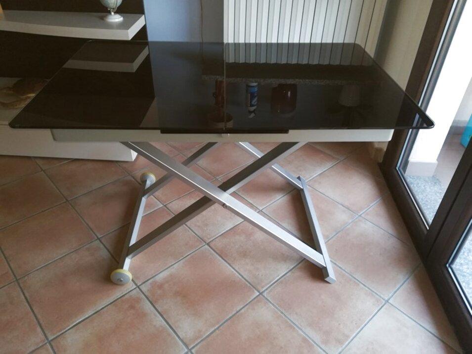 Tavolo Cristallo Allungabile Usato.Tavolo Calligaris Eleven Usato In Italia Vedi Tutte I 16 Prezzi