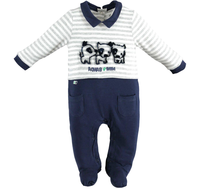 Tutina neonato maniche lunghe intera o spezzata in Cotone//Caldo Cotone//Ciniglia