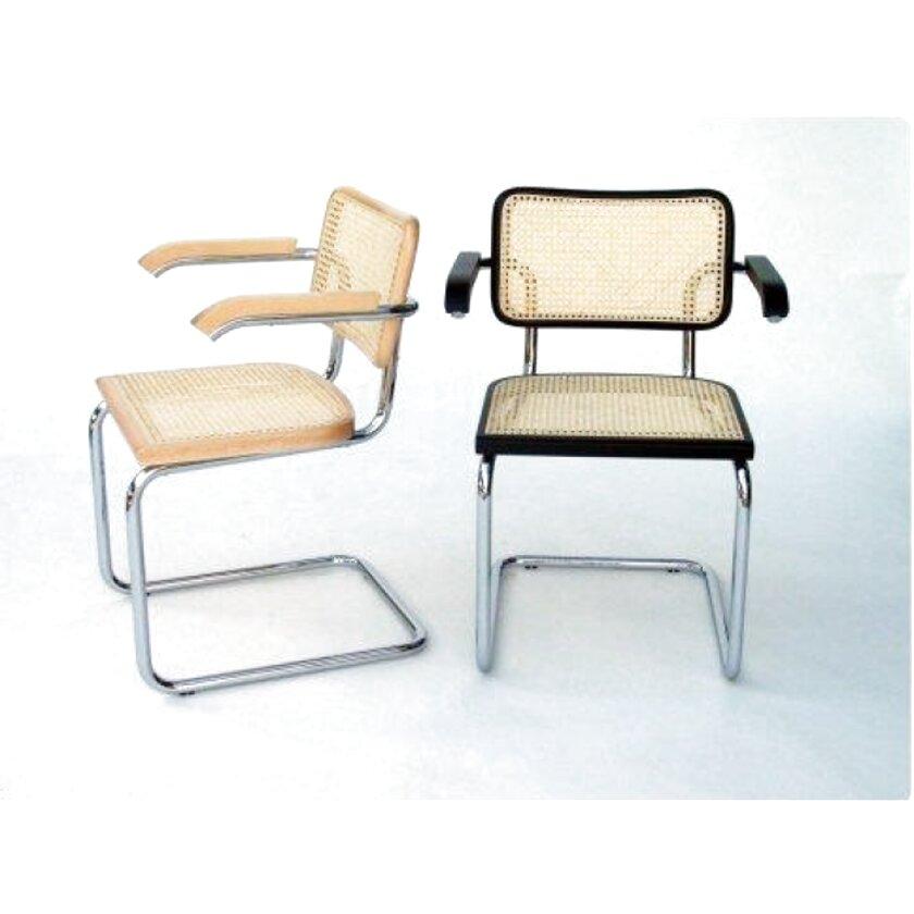 Sedili Di Ricambio Per Sedie.Set Di 4 Sedili Per Sedie Breuer Nere E Paglia Di Vienna Generico