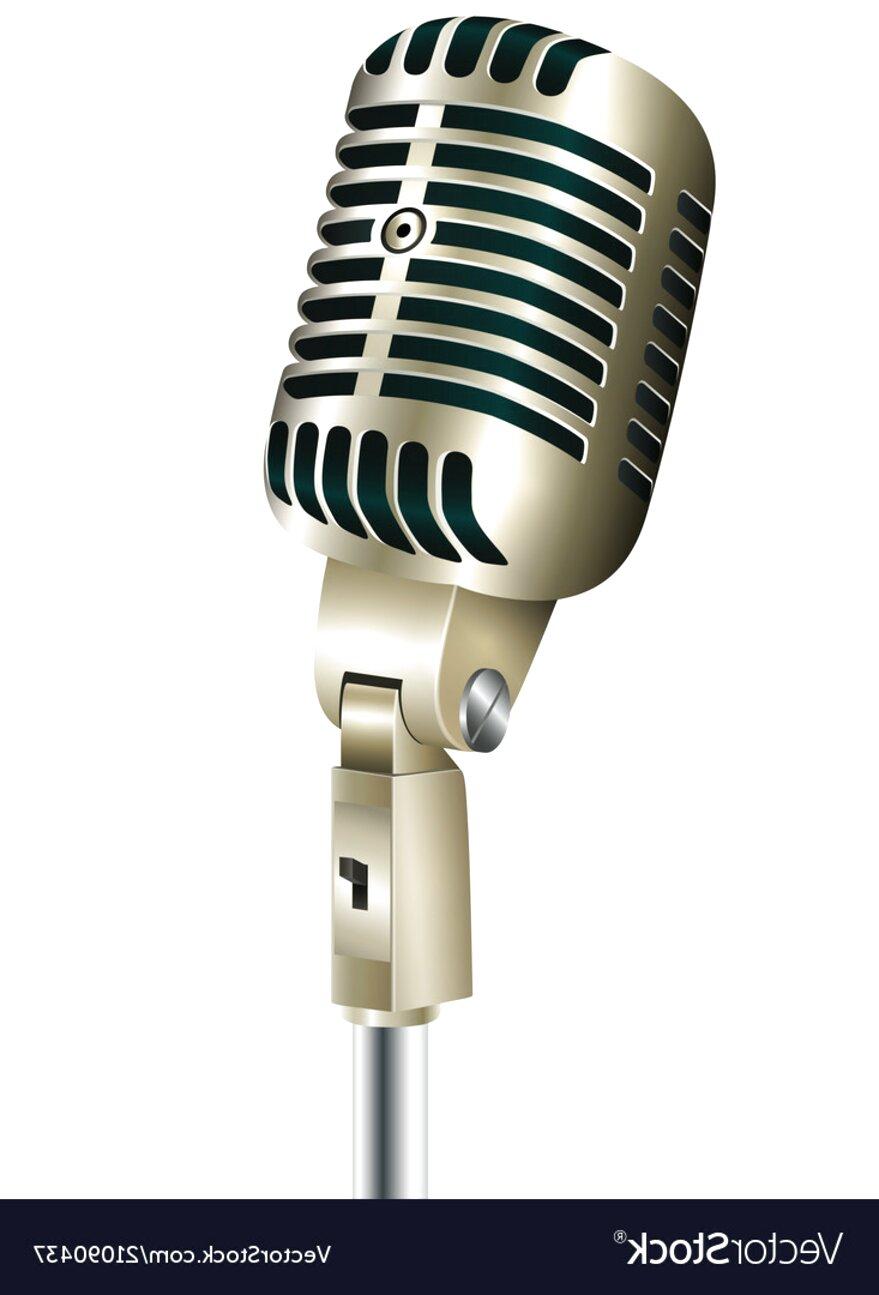 vintage microphone usato