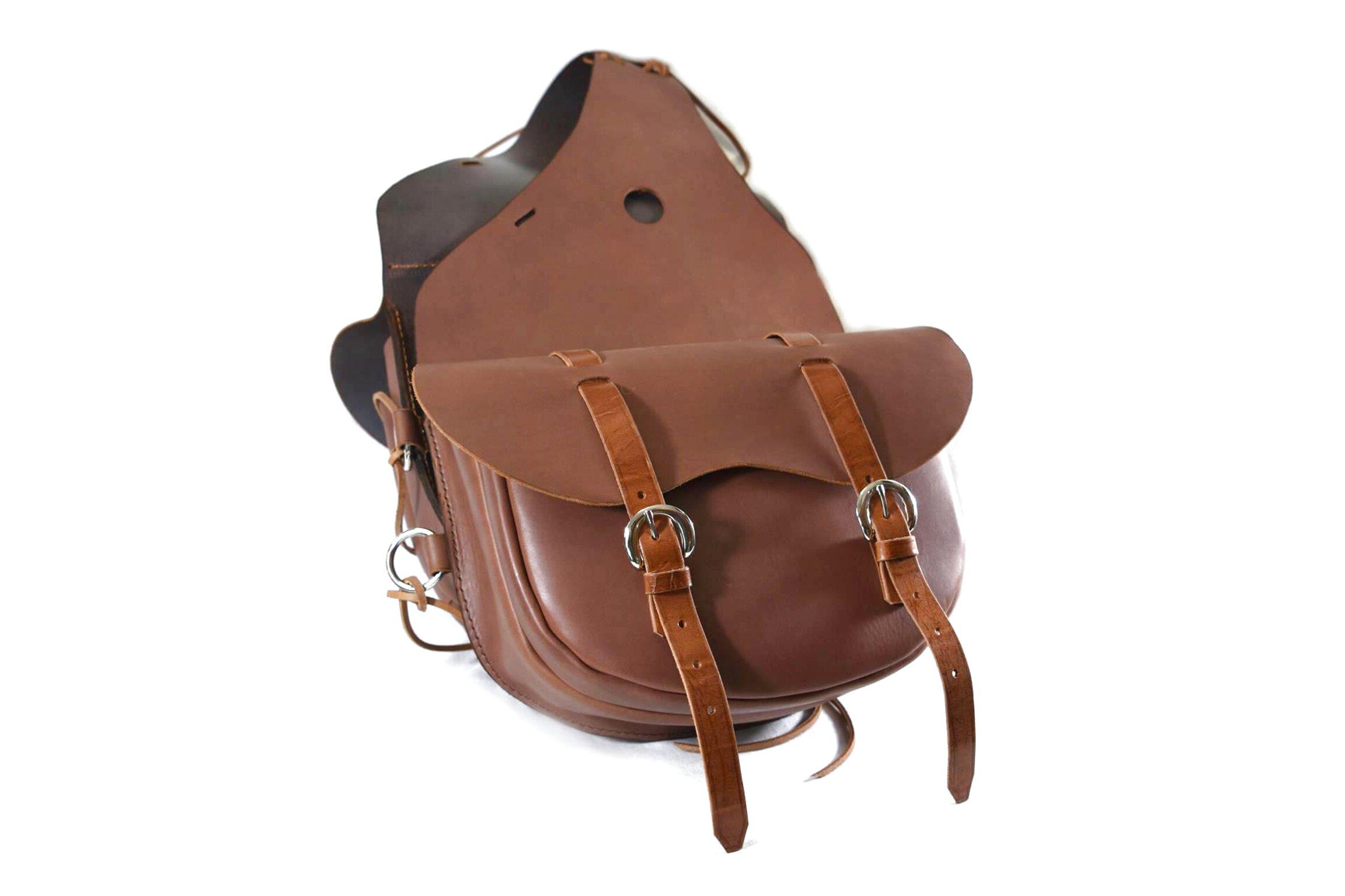 Bisaccia western pomo sella americana borsa saddlebag